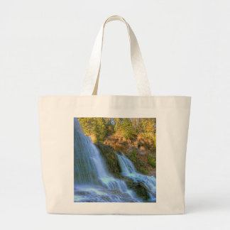 Caídas del otoño bolsas lienzo