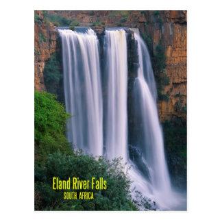 Caídas del río de Elands, Suráfrica Postales