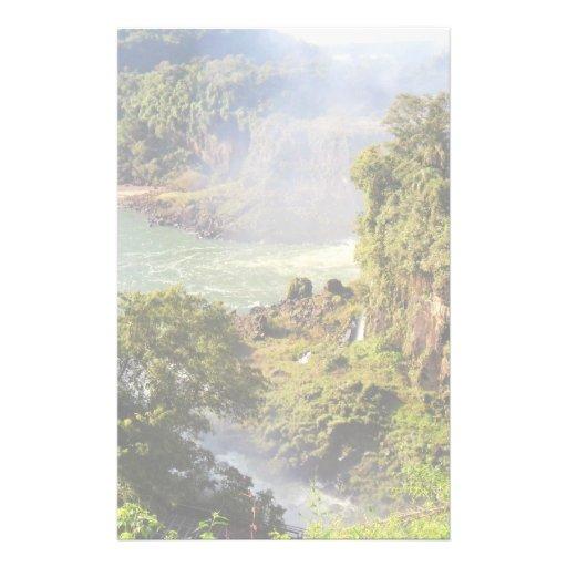 Caídas del río papeleria personalizada