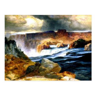 Caídas del Shoshone, el río Snake, Idaho Postales