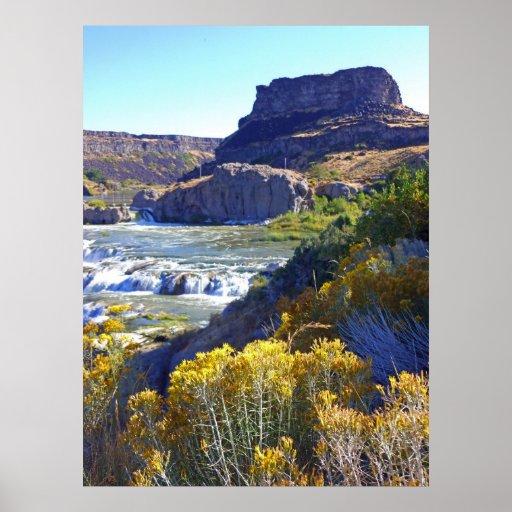 Caídas del Shoshone Póster