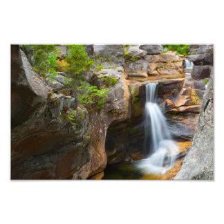 Caídas del taladro de tornillo, Maine Impresiones Fotograficas
