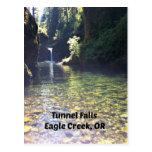 Caídas del túnel, Eagle Creek, Oregon Tarjetas Postales