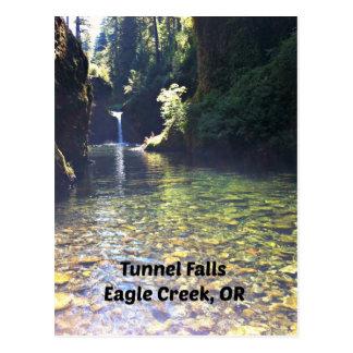 Caídas del túnel, Eagle Creek, Oregon Postal