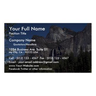 Caídas del valle de Yosemite, los E.E.U.U. Tarjeta De Visita