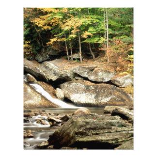 Caídas el condado de Windham Vermont de los lucios Membretes Personalizados