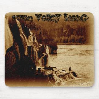 caídas en la cala de la caída, valle Idaho del cis Mouse Pad