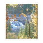Caídas en otoño bloc de notas