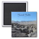 Caídas fósiles, California Imán De Frigorífico