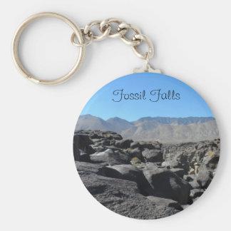 Caídas fósiles, California Llavero Redondo Tipo Pin