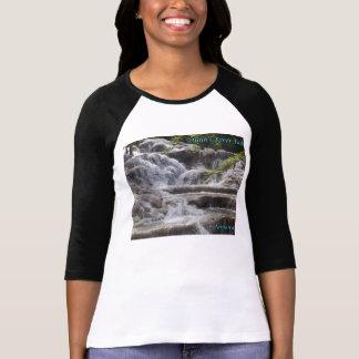 Caídas Jamaica del río de Dunn Playera