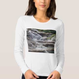 Caídas Jamaica del río de Dunn Remera