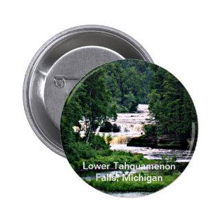 Caídas más bajas de Tahquamenon, Michigan Pin
