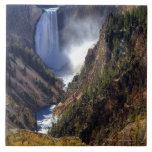 Caídas más bajas de Yellowstone, nacional de Yello Tejas Ceramicas