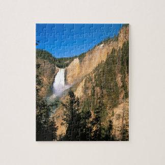 Caídas más bajas Wyoming de Yellowstone Puzzles