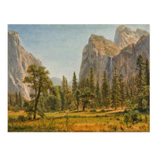 Caídas nupciales del velo de Bierstadt, valle de Postales