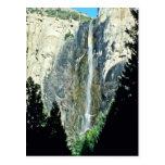 Caídas nupciales del velo - parque nacional de Yos Tarjetas Postales