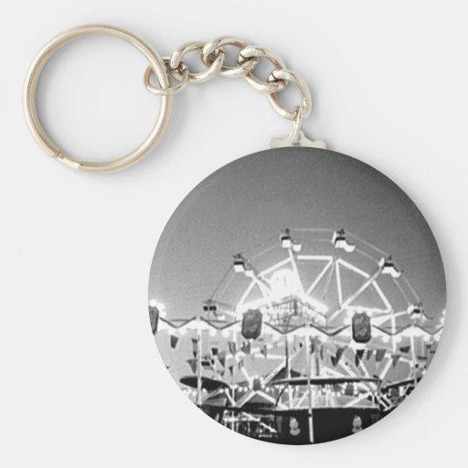 Caídas Oregon de Klamath del vintage del circo de  Llaveros