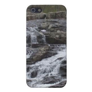 Caídas rocosas iPhone 5 carcasas