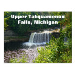 Caídas superiores de Tahquamenon, Michigan Postales