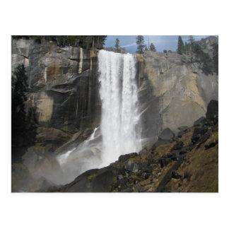 Caídas vernales Yosemite Tarjetas Postales