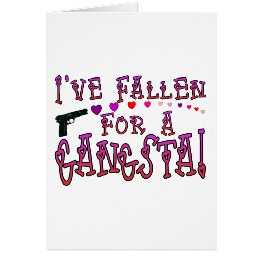 Caído para Gangsta Tarjetón