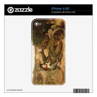 Caído por el borde del camino, 1886 (aceite en lon iPhone 4S calcomanías