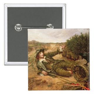 Caído por el borde del camino, 1886 (aceite en lon pin cuadrada 5 cm