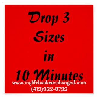 Caiga 3 Sizesin 10 minutos, www.mylifehasbeencha… Póster