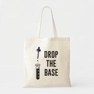 Caiga la base baja de la química bolsa tela barata