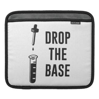 Caiga la base baja de la química funda para iPads