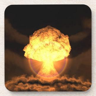 Caiga la bomba posavasos