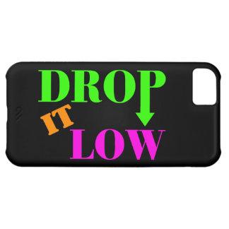 Cáigalo estilo de neón bajo funda para iPhone 5C