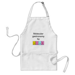 Cailan periodic table name apron
