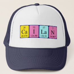 Cailan periodic table name hat