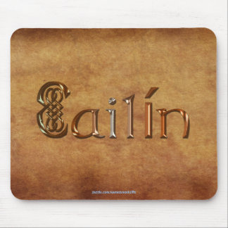 CAILIN Name-Branded Personalised Gift Mousepad