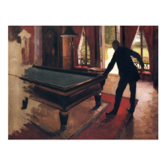 Caillebotte: Billares Tarjetas Postales