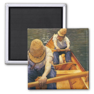 Caillebotte: Boaters Rowing on the Yerres Magnet