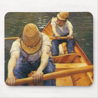 Caillebotte: Boaters Rowing on the Yerres Mouse Pad