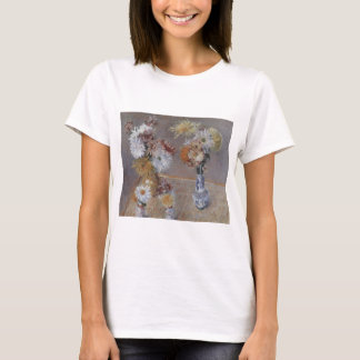 Caillebotte Four Vases of Chrysanthemums T-Shirt