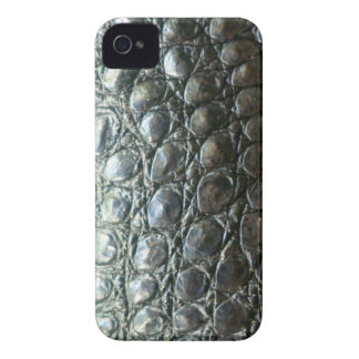 Caiman Crocodile Faux Alligator-Skin Design iPhone 4 Case