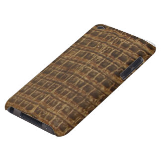caiman crocodile leather phone case