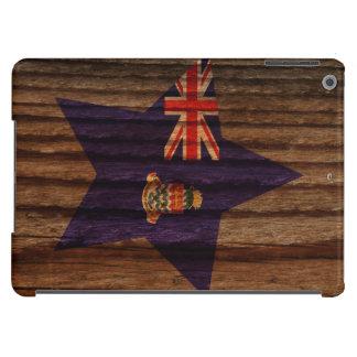 Caimán+Estrella de la bandera de las islas en el Funda Para iPad Air