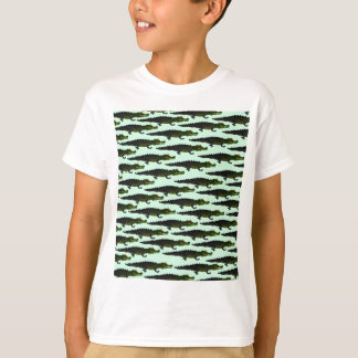 Caiman Pattern in green.png T-Shirt