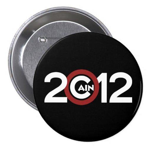 Cain 2012 Button Black