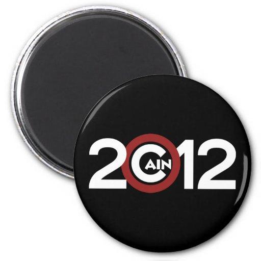 Cain 2012 Magnet in Black