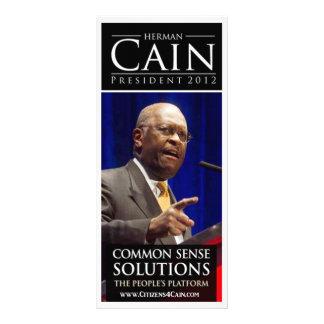 Cain 2012 Rack Card