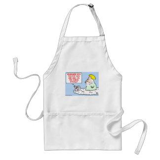 cain abel god angel adult apron