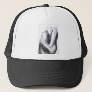 Cain and Abel 2(abstract surrealism) Trucker Hat