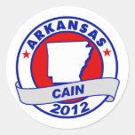 Cain - Arkansas Stickers